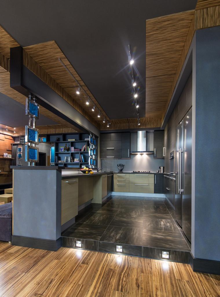 Фото № 66734 кухня  Квартира
