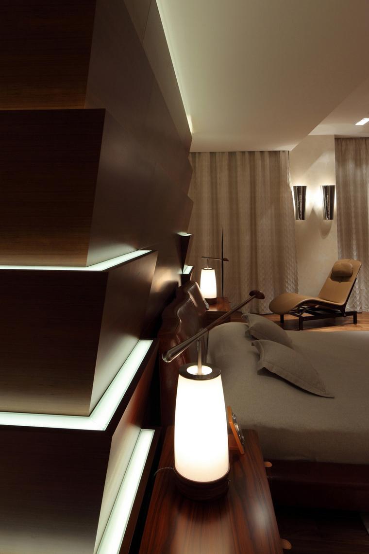 интерьер спальни - фото № 66767