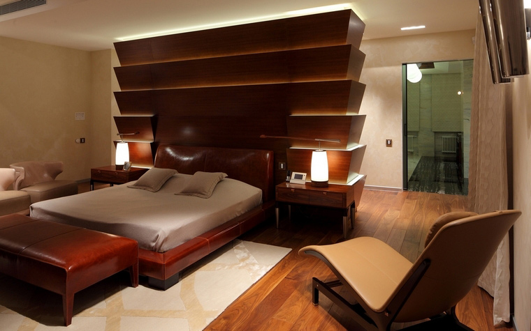 интерьер спальни - фото № 66769