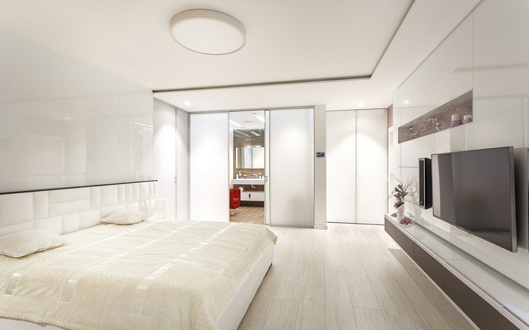 Квартира. спальня из проекта , фото №66815