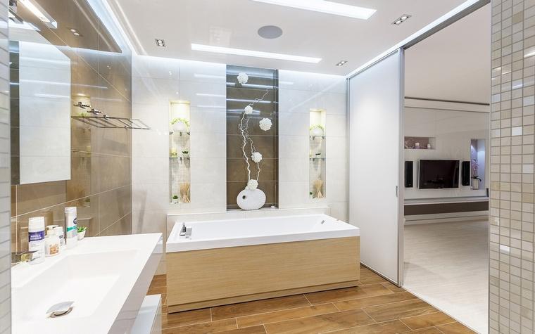 Квартира. ванная из проекта , фото №66816