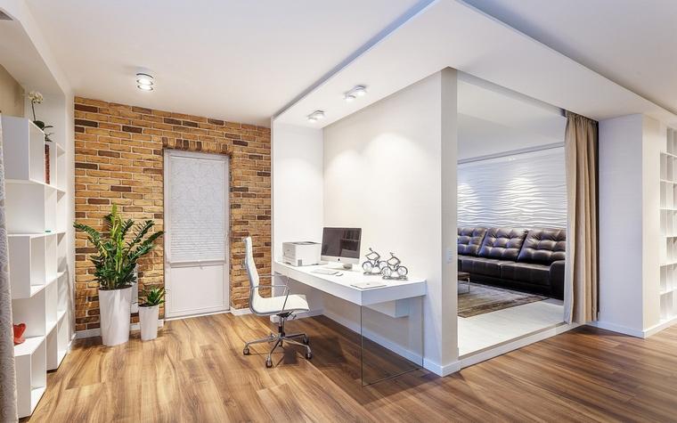 Квартира. кабинет из проекта , фото №66818