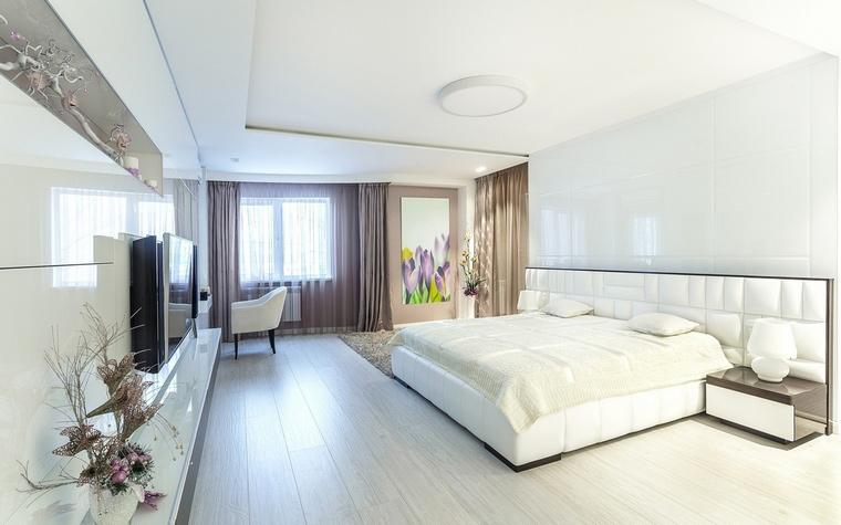 Квартира. спальня из проекта , фото №66813