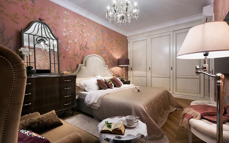 Квартира. спальня из проекта , фото №66838
