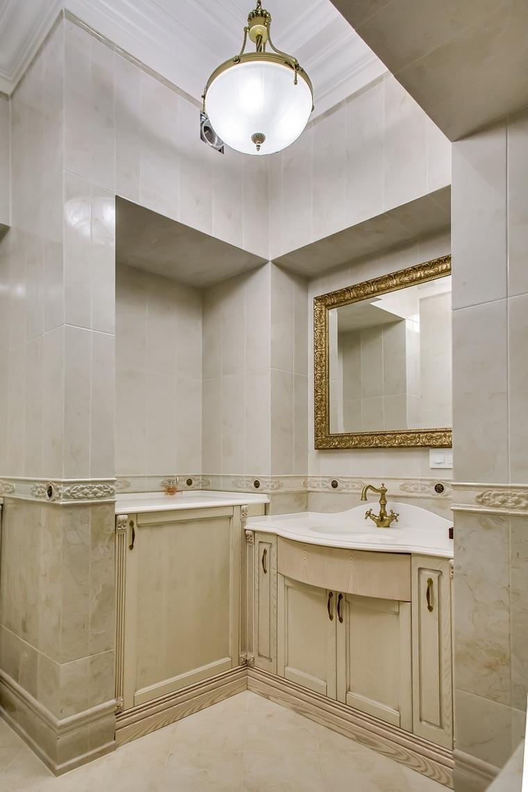 Квартира. ванная из проекта , фото №66947