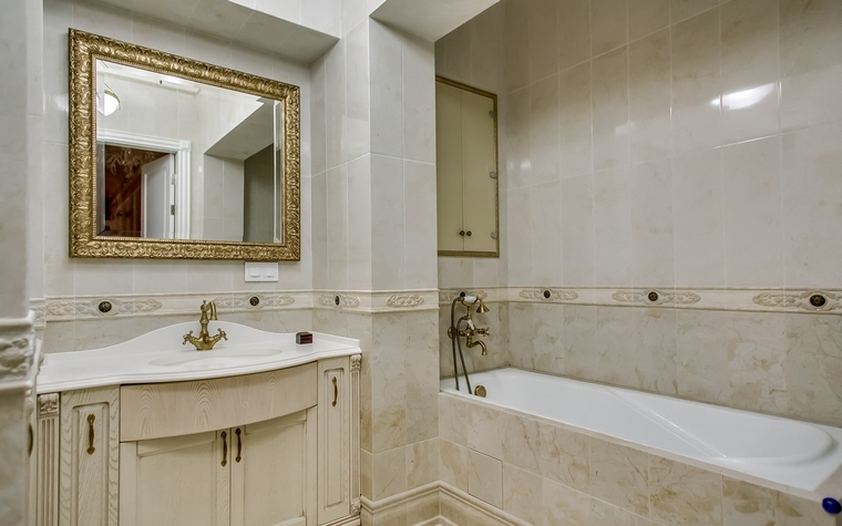 Квартира. ванная из проекта , фото №66948