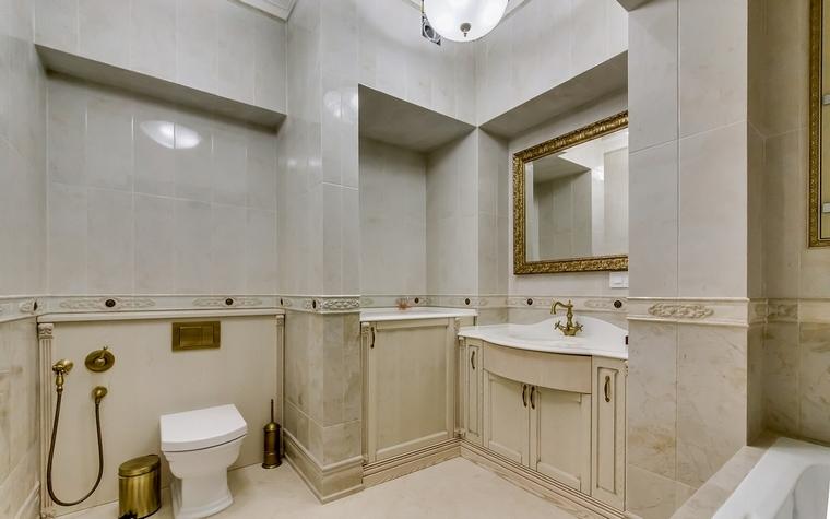Квартира. ванная из проекта , фото №66949