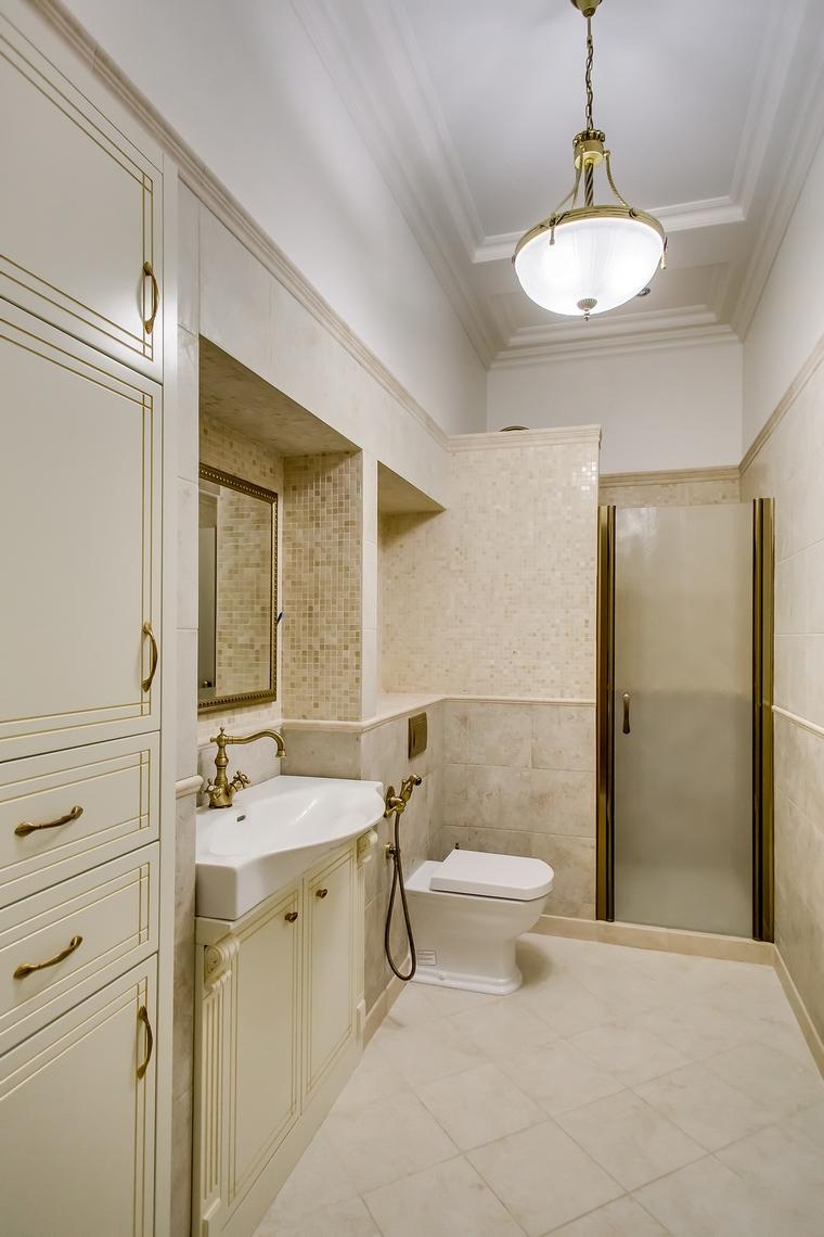 Квартира. ванная из проекта , фото №66952