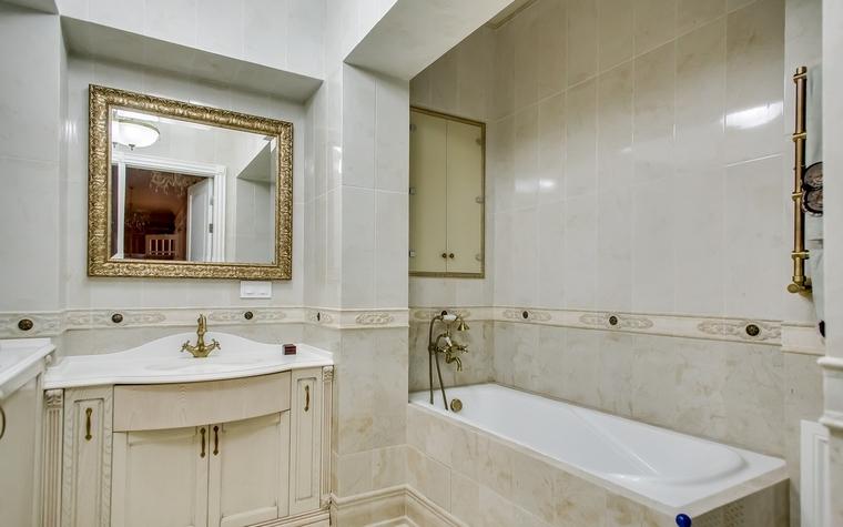 Квартира. ванная из проекта , фото №66944