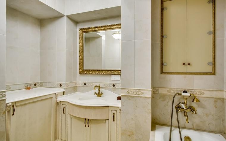Квартира. ванная из проекта , фото №66945