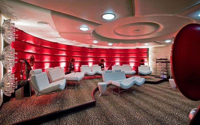 Квартира. домашний кинотеатр из проекта , фото №66970