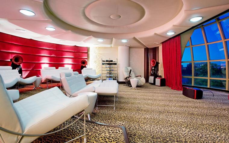 Квартира. домашний кинотеатр из проекта , фото №66971