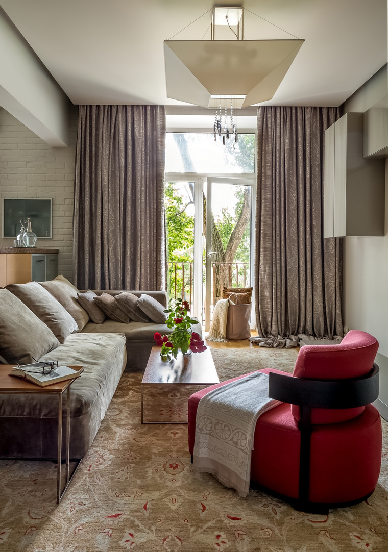 интерьер гостиной - фото № 67068