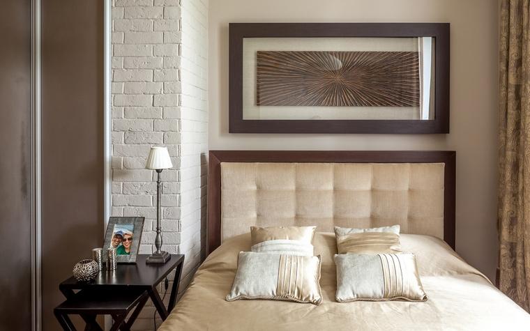 Квартира. спальня из проекта , фото №67080