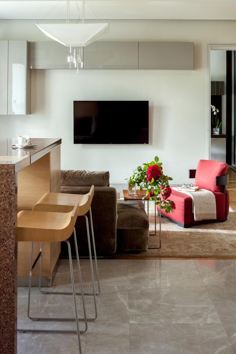 интерьер гостиной - фото № 67065