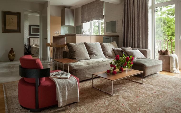 Фото № 67067 гостиная  Квартира