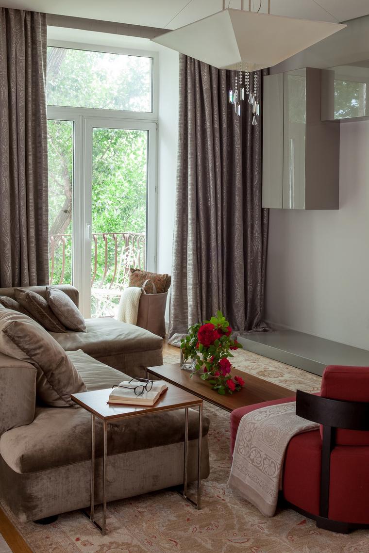 Фото № 67070 гостиная  Квартира