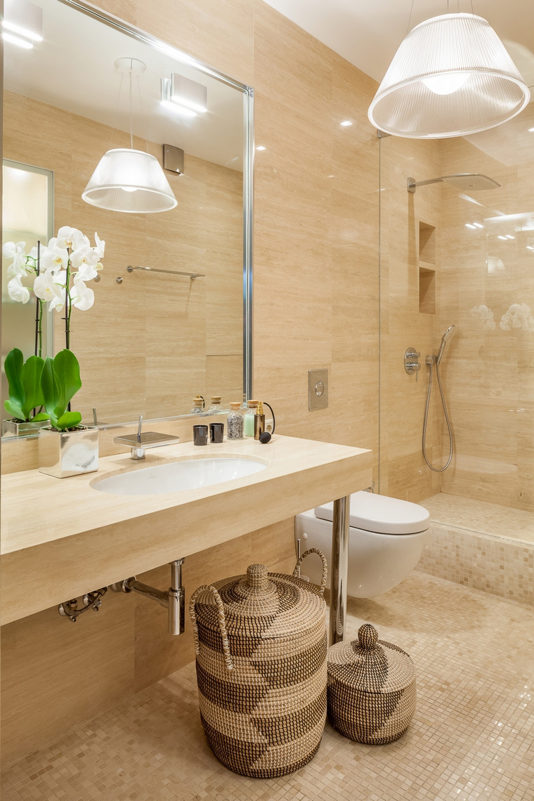 Фото № 67088 ванная  Квартира