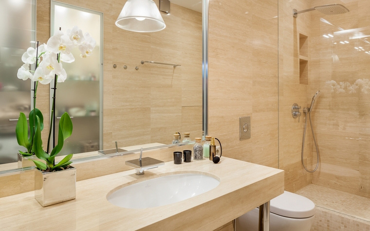 Квартира. ванная из проекта , фото №67089