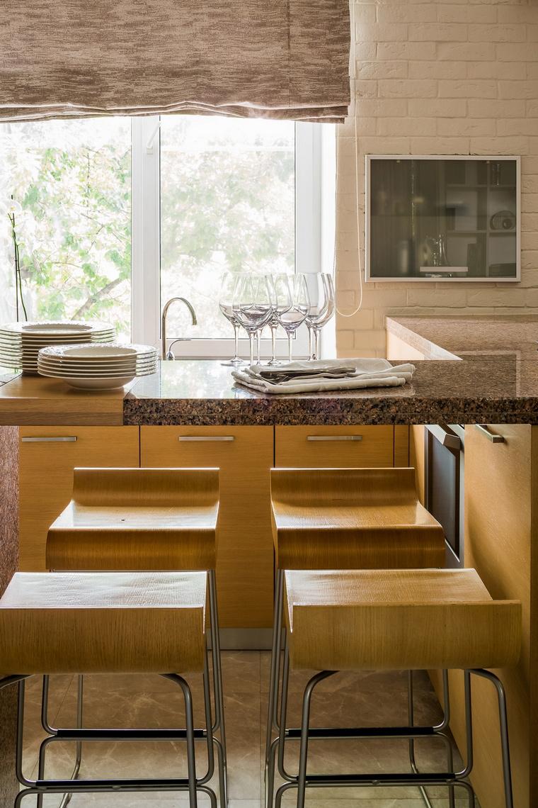 Фото № 67075 кухня  Квартира