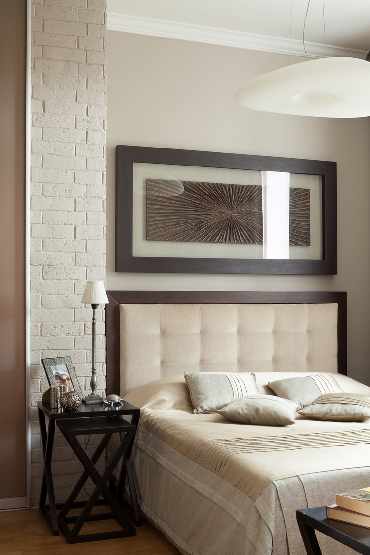 Квартира. спальня из проекта , фото №67077