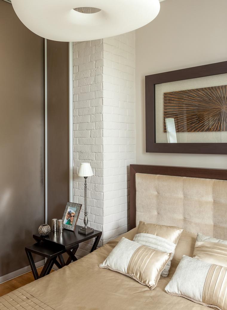 Квартира. спальня из проекта , фото №67079