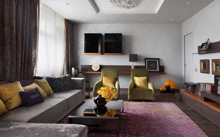 интерьер гостиной - фото № 67214