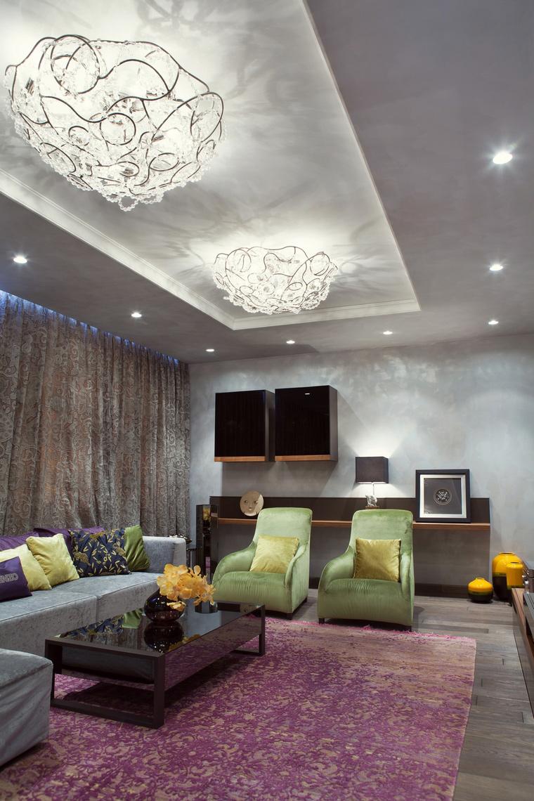 интерьер гостиной - фото № 67213
