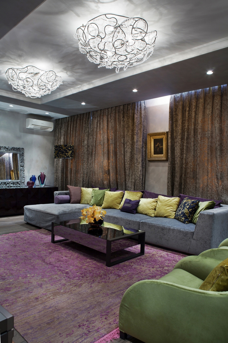 интерьер гостиной - фото № 67217