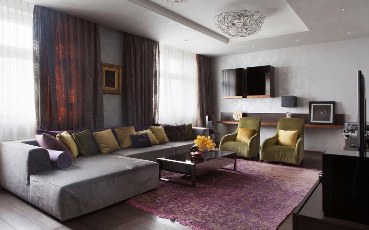 интерьер гостиной - фото № 67215