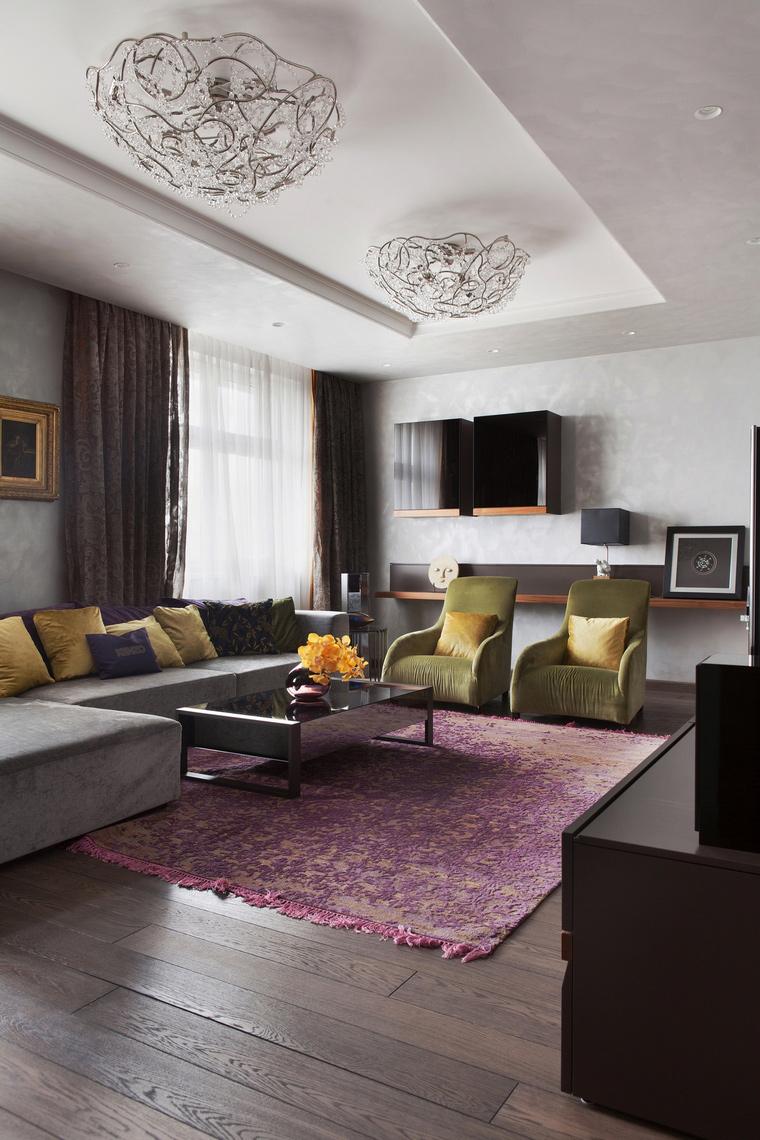 интерьер гостиной - фото № 67216