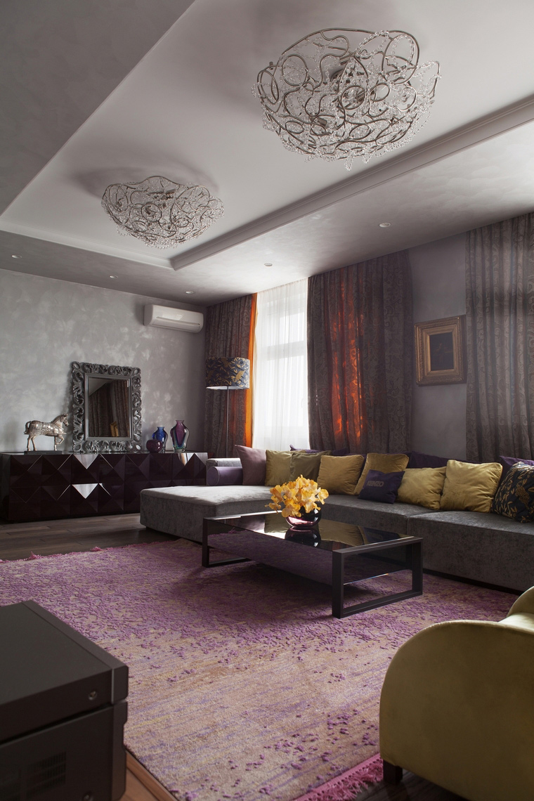 интерьер гостиной - фото № 67209