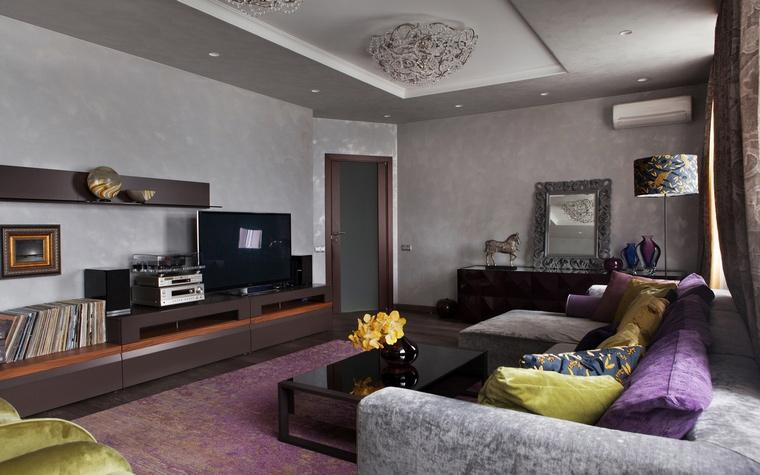 интерьер гостиной - фото № 67210