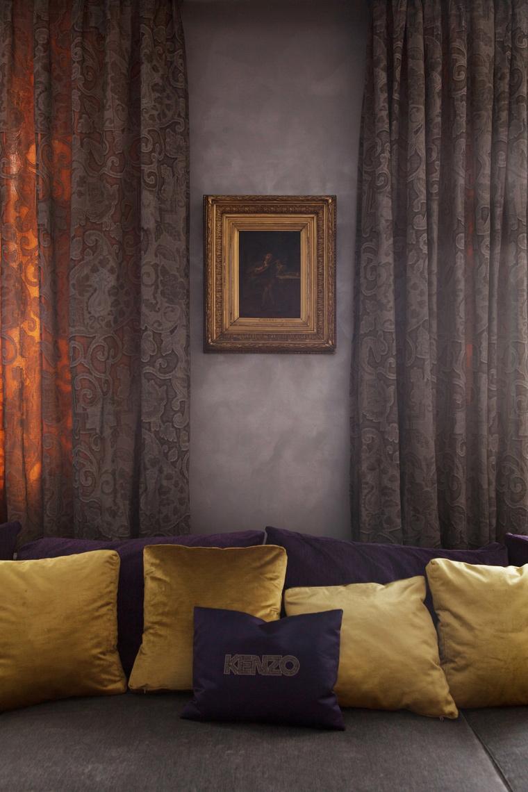 интерьер гостиной - фото № 67212