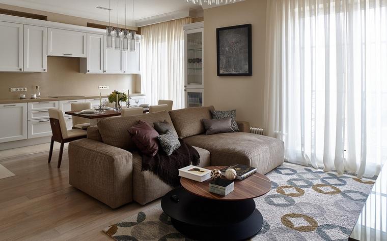 Фото № 67374 гостиная  Квартира