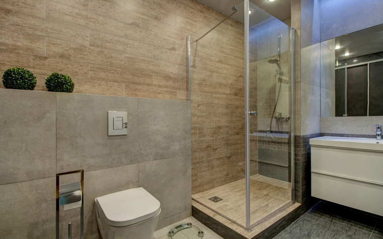 Фото № 67393 ванная  Квартира
