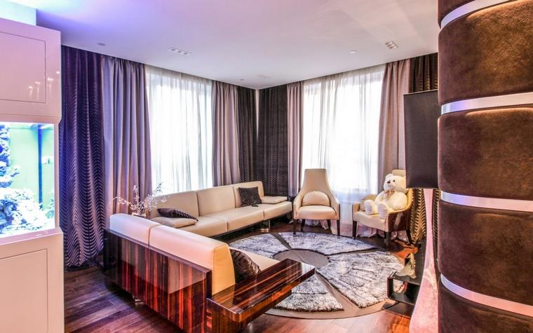интерьер гостиной - фото № 67450