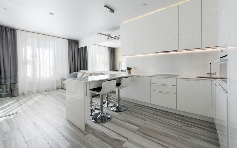 Фото № 67490 кухня  Квартира