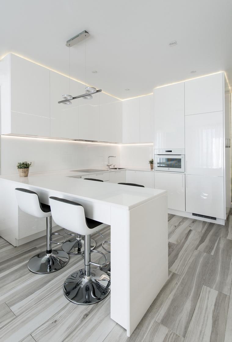 Квартира. кухня из проекта , фото №67488