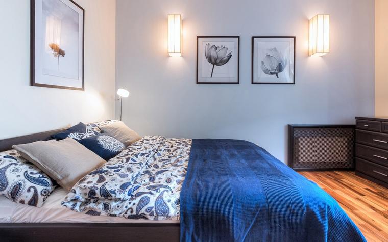 интерьер спальни - фото № 67540