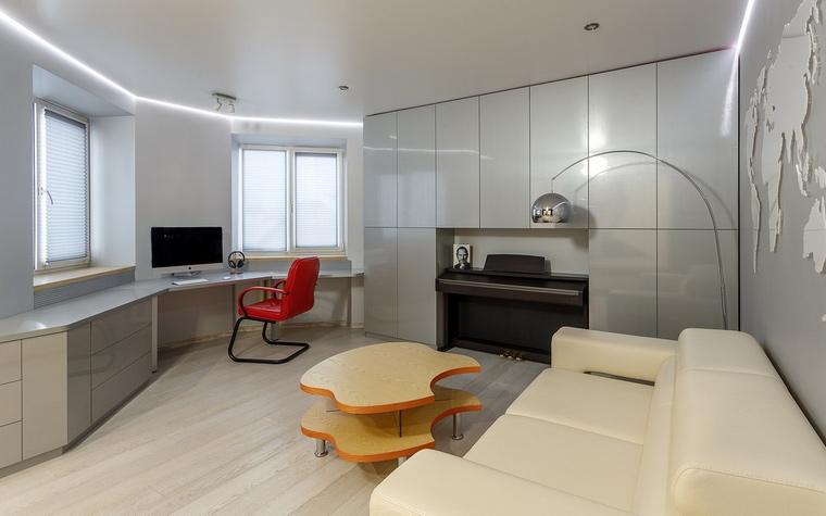 Квартира. гостиная из проекта , фото №67543