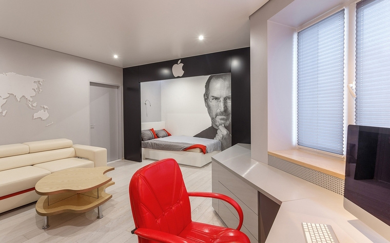 Квартира. гостиная из проекта , фото №67542