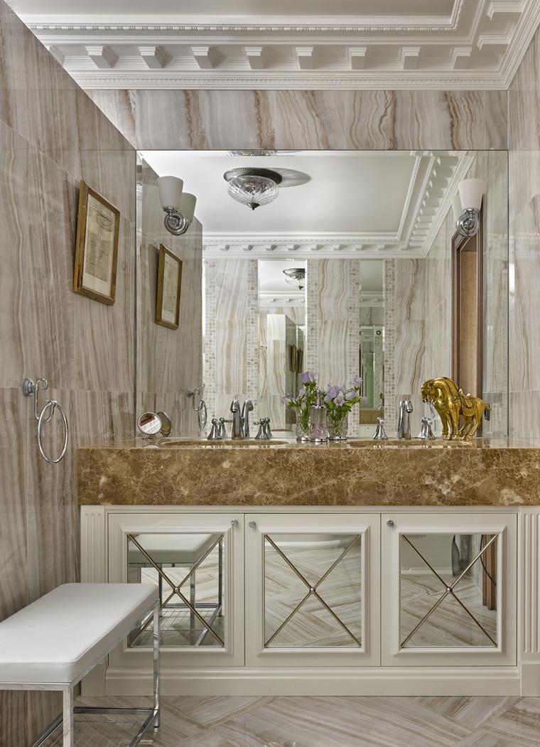 Фото № 67672 ванная  Квартира