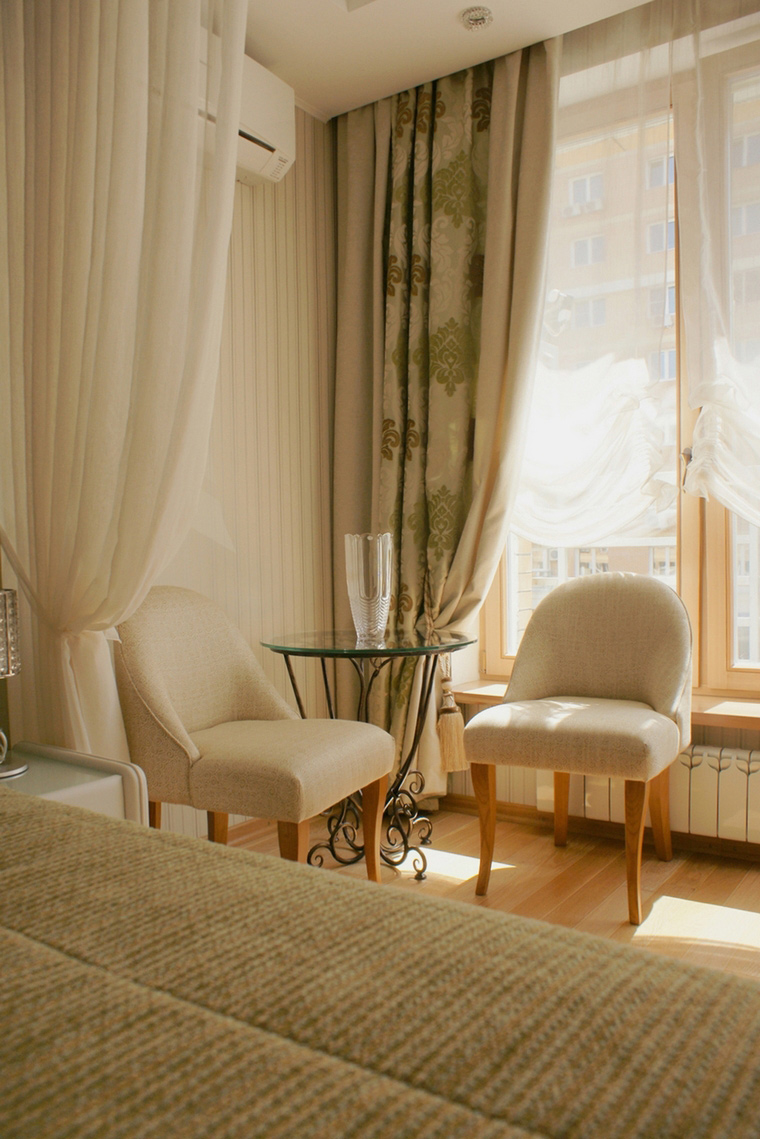 Квартира. спальня из проекта , фото №67682