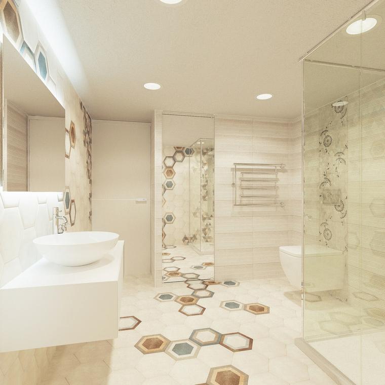 интерьер ванной - фото № 67732