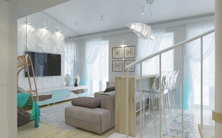 Квартира. гостиная из проекта , фото №67727