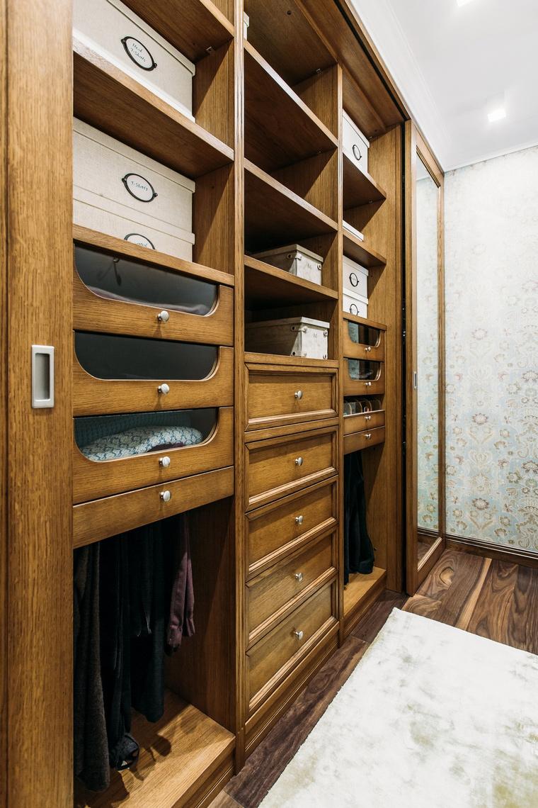 Фото № 67774 гардеробная  Квартира