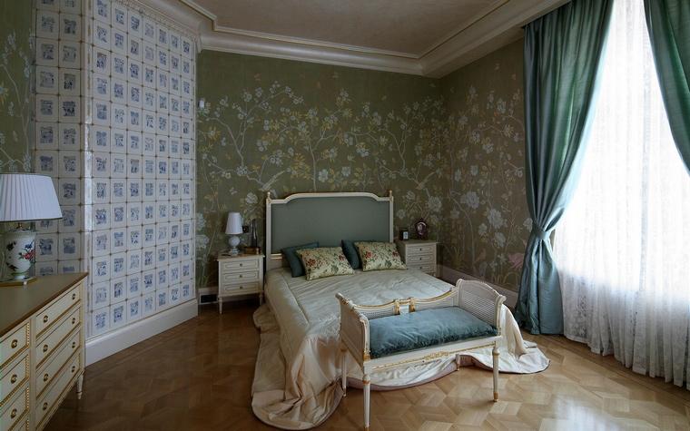 интерьер спальни - фото № 67785