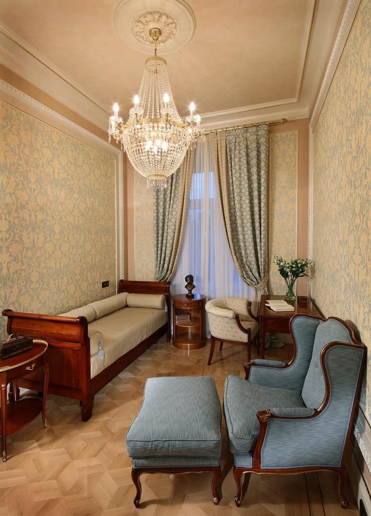 Фото № 67790 гостиная  Квартира