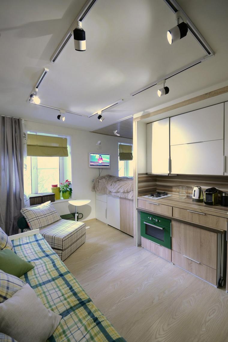 интерьер гостиной - фото № 67843